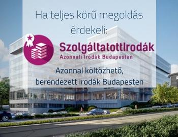 Azonnal költözhető, berendezett irodák Budapesten